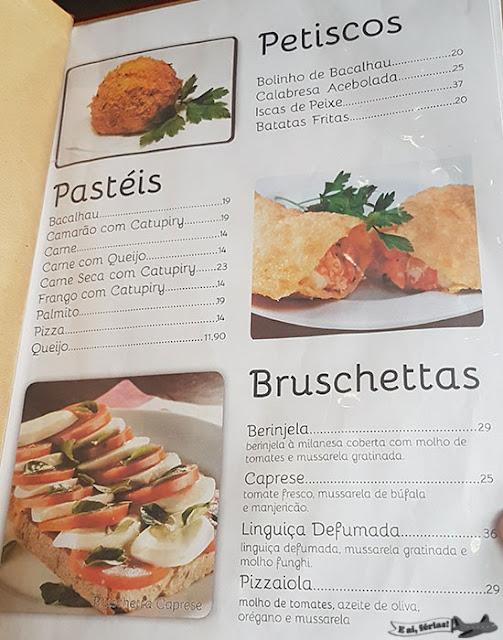 Mercado Municipal Paulistano, São Paulo, cardápio, Nico Pasta & Basta