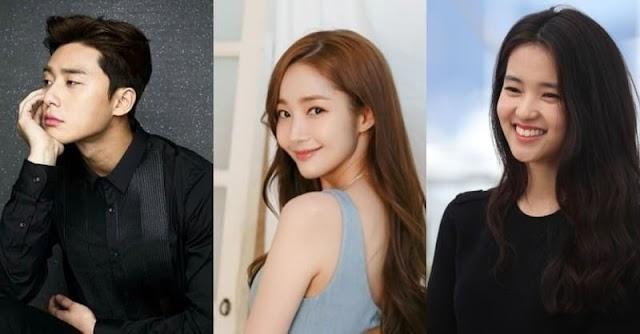Park Seo Joon encabeza la clasificación de valor de marca para los actores en agosto + Park Min Young y Kim Tae Ri siguen