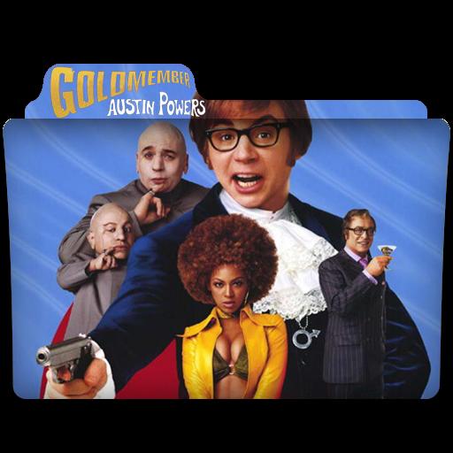 Folder Eyecons Austin Powers Goldmember 2002