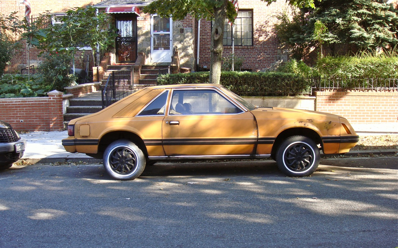The street peep 1981 ford mustang hatchback