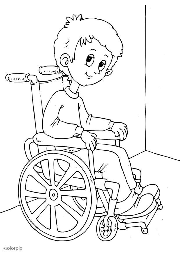 Mi Colección De Dibujos Dibujos De Niños Discapacitados