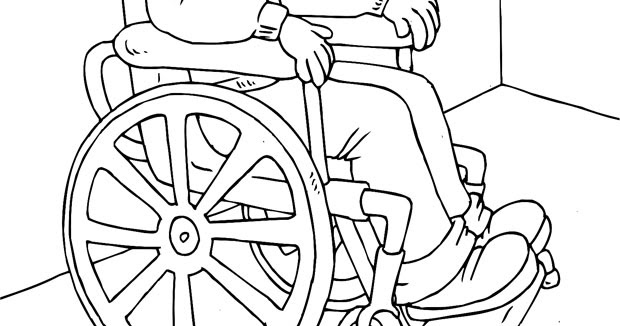 Mi Colección De Dibujos Dibujos De Niños Discapacitados Para Colorear