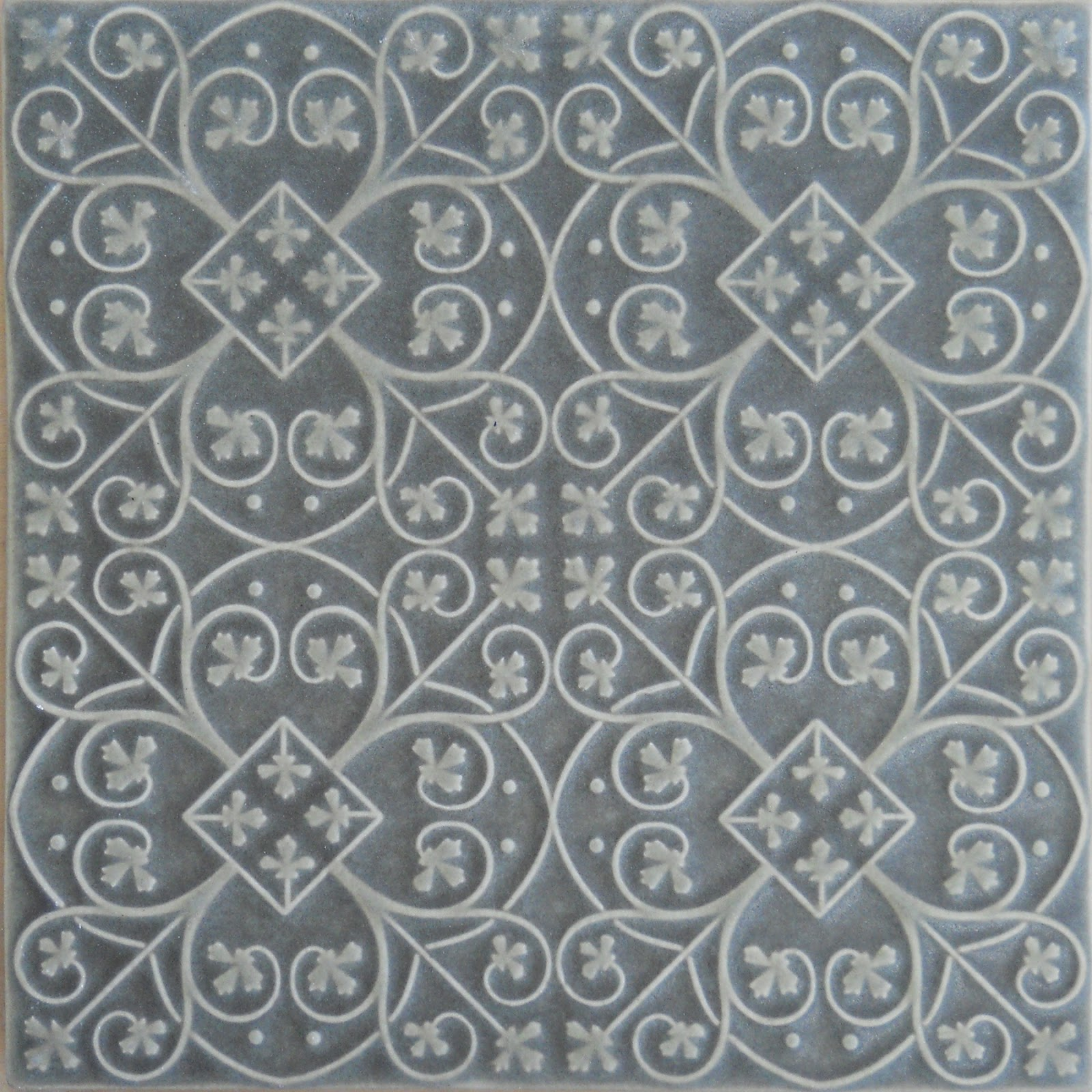 Pratt And Larson Tile Introducing Filigree