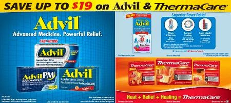 Children's Advil Sugar-Free Dye-Free Berry and other product coupon banenr