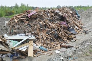 Dump site on Richmond farmland