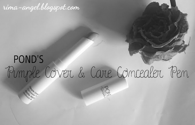 Review Pond's Pimple Cover & Care Concealer Pen