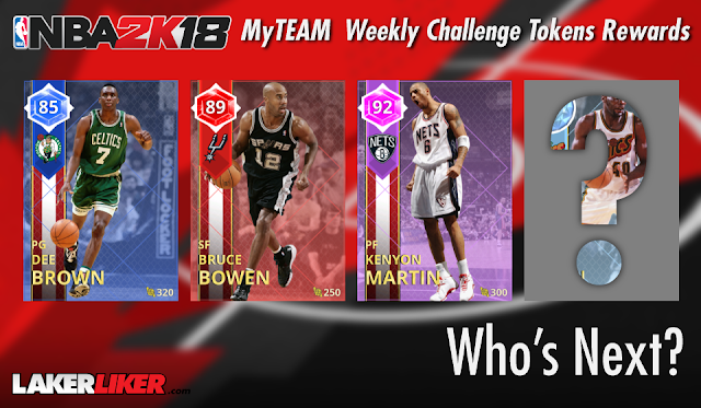 30cfc0211 This week (begins every Friday) marks the final MyTEAM Weekly Challenges  token to unlock overall 89 ruby '07 San Antonio Spur Bruce Bowen.