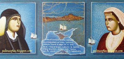 Αποτέλεσμα εικόνας για έργα ζωγραφικής της Σοφίας Αμπερίδου
