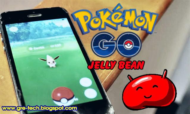 Cara Download dan Main Pokemon GO di Android Jelly Bean