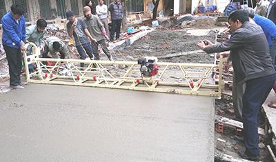 Biện pháp thi công mặt đường bê tông xi măng có bản vẽ