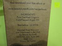 Hersteller: Argan Oel - Biologisches Oel aus Marokko, 4 oz - Kalt gepresst und ausgezeichnete Feuchtigkeitsspendung fuer Haare, Haut, Nägel; Zur Behandlung von Frizz, vorzeitiger Hautalterung und Falten. Importiert aus Marokko von Beauty by Earth