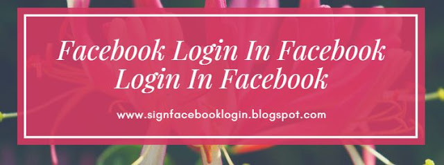 Facebook Login In Facebook Login In Facebook