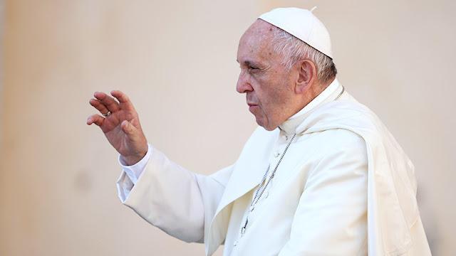 """Papa Francisco: """"El diablo es el responsable de las guerras en Oriente Medio y Ucrania"""""""