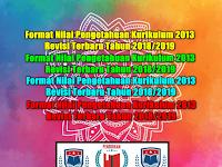 Format Nilai Pengetahuan Kurikulum 2013 Revisi Terbaru Tahun 2018/2019
