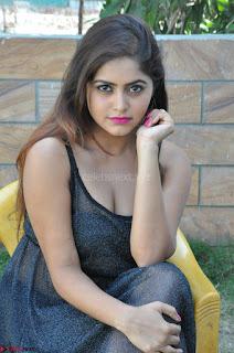 Pragya Nayan New Fresh Telugu Actress Stunning Transparent Black Deep neck Dress ~  Exclusive Galleries 058.jpg