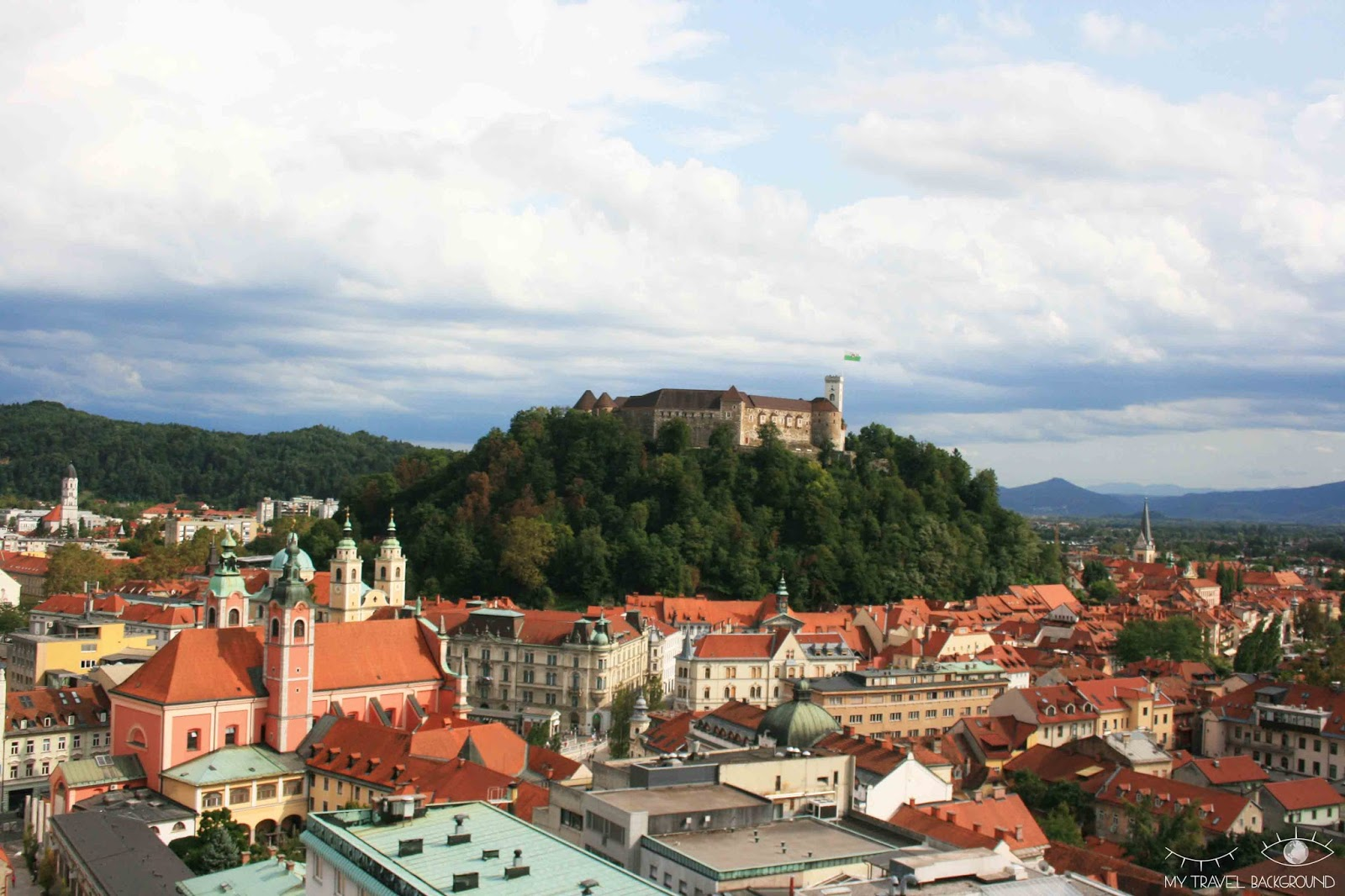 My Travel Background : cartes postales de Slovénie - Ljubljana