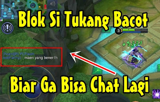 Cara Mematikan Chat Di Mobile Legends