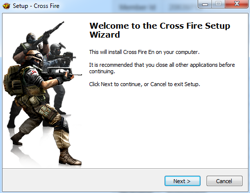 تثبيت لعبة كروس فاير على الحاسوب