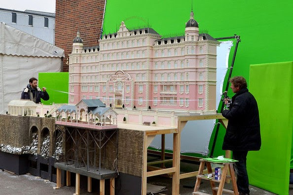 Grand Budapest Hotel, hotel model