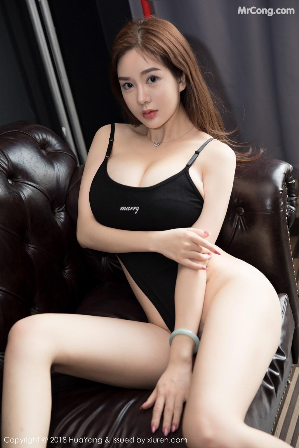 Image HuaYang-2018-08-09-Vol.068-Silvia-MrCong.com-004 in post HuaYang 2018-08-09 Vol.068: Người mẫu 易阳Silvia (41 ảnh)