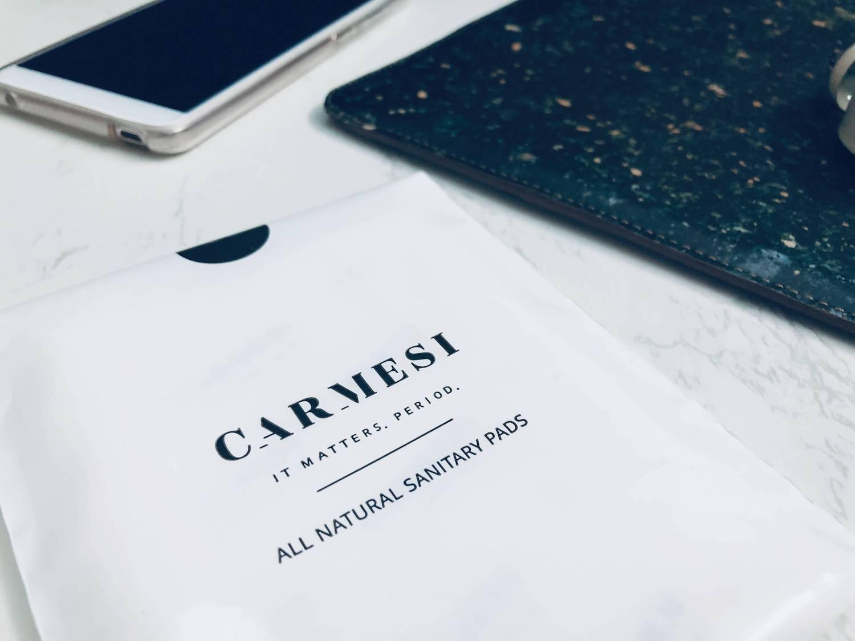 carmesi pad closeup