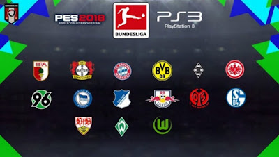 PES 2018 PS3 Bundesliga Kitpack Season 2018/2019