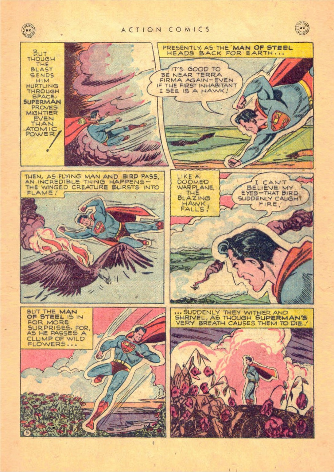 Read online Action Comics (1938) comic -  Issue #124 - 7