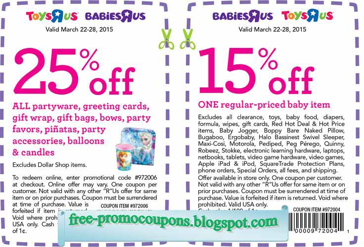 Babies R Us Savings: More than Just Coupons