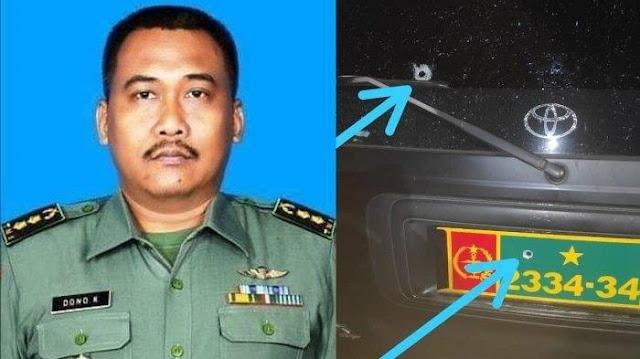 Penembak Letkol Dono Dari TNI AU, Ditangkap Di Kramatjati