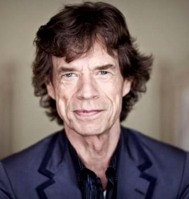 Foto de Mick Jagger sonriendo