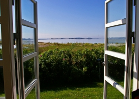 Picture of an open window.