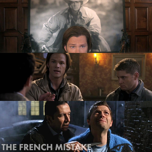 Supernatural 6x15 - The French Mistake