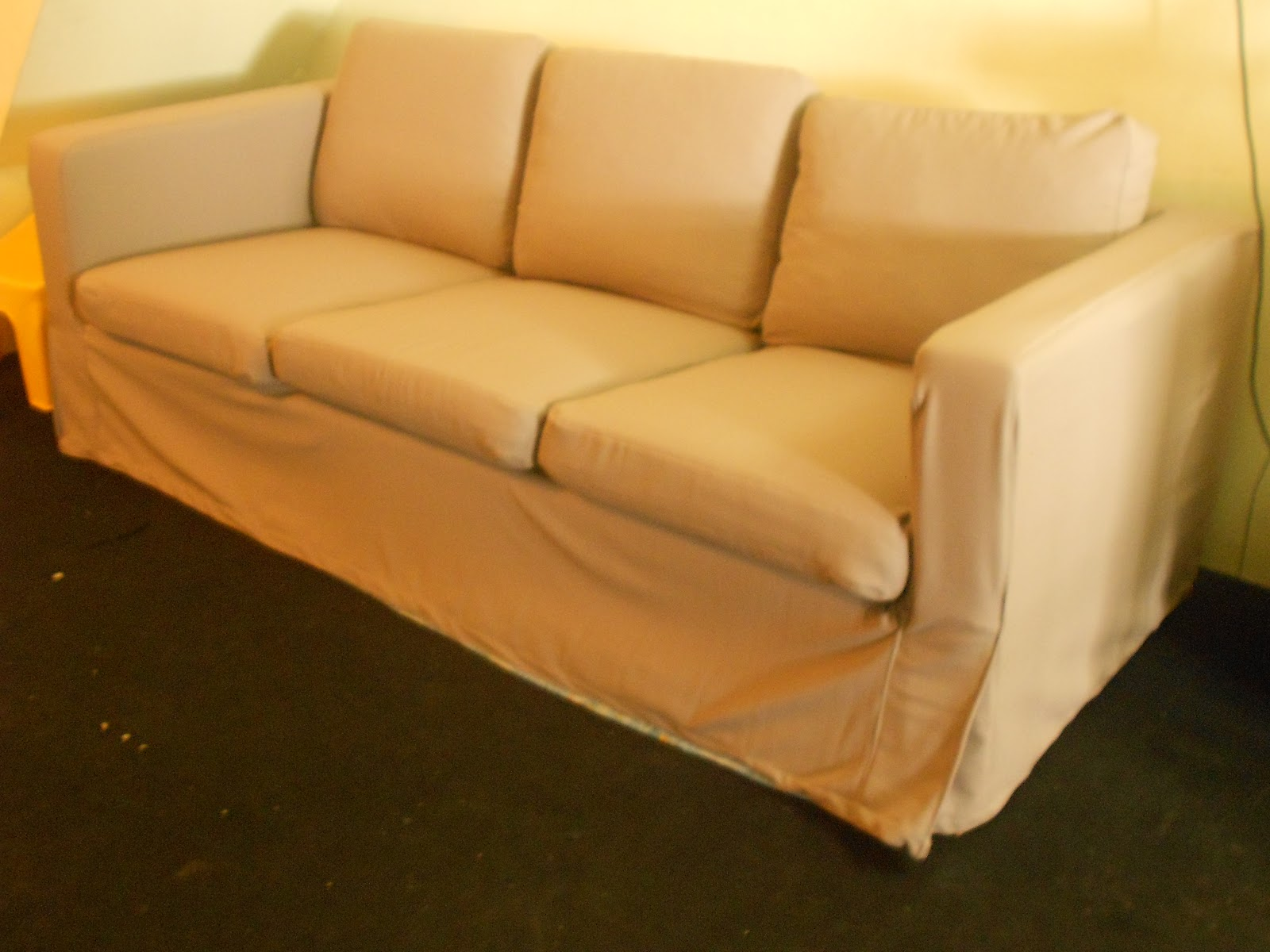 How Much Fabric To Cover A Sectional Sofa Recliner Yuhmico: Diy - Slip