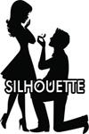 EDIBLE IMAGE SILHOUTTE