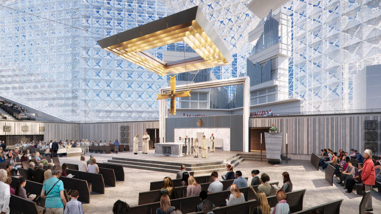 Southern orders what 39 s up with christ cathedral garden - Interior design schools orange county ...
