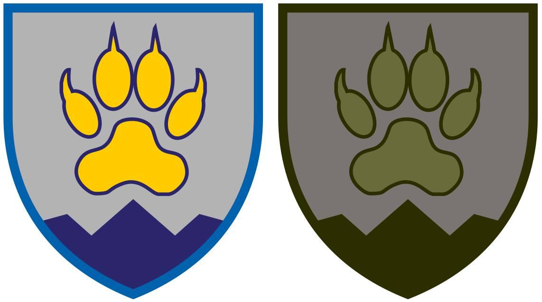Нарукавник 15-го гірсько-штурмового батальйону