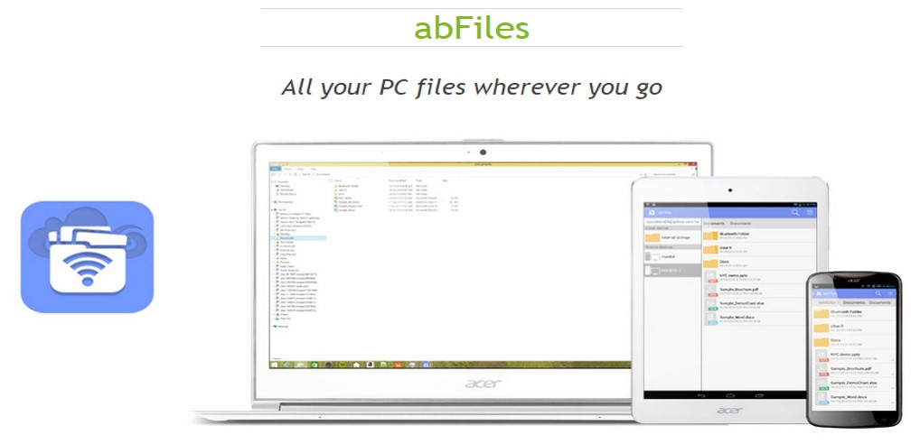 Acer abFiles on My Cloud