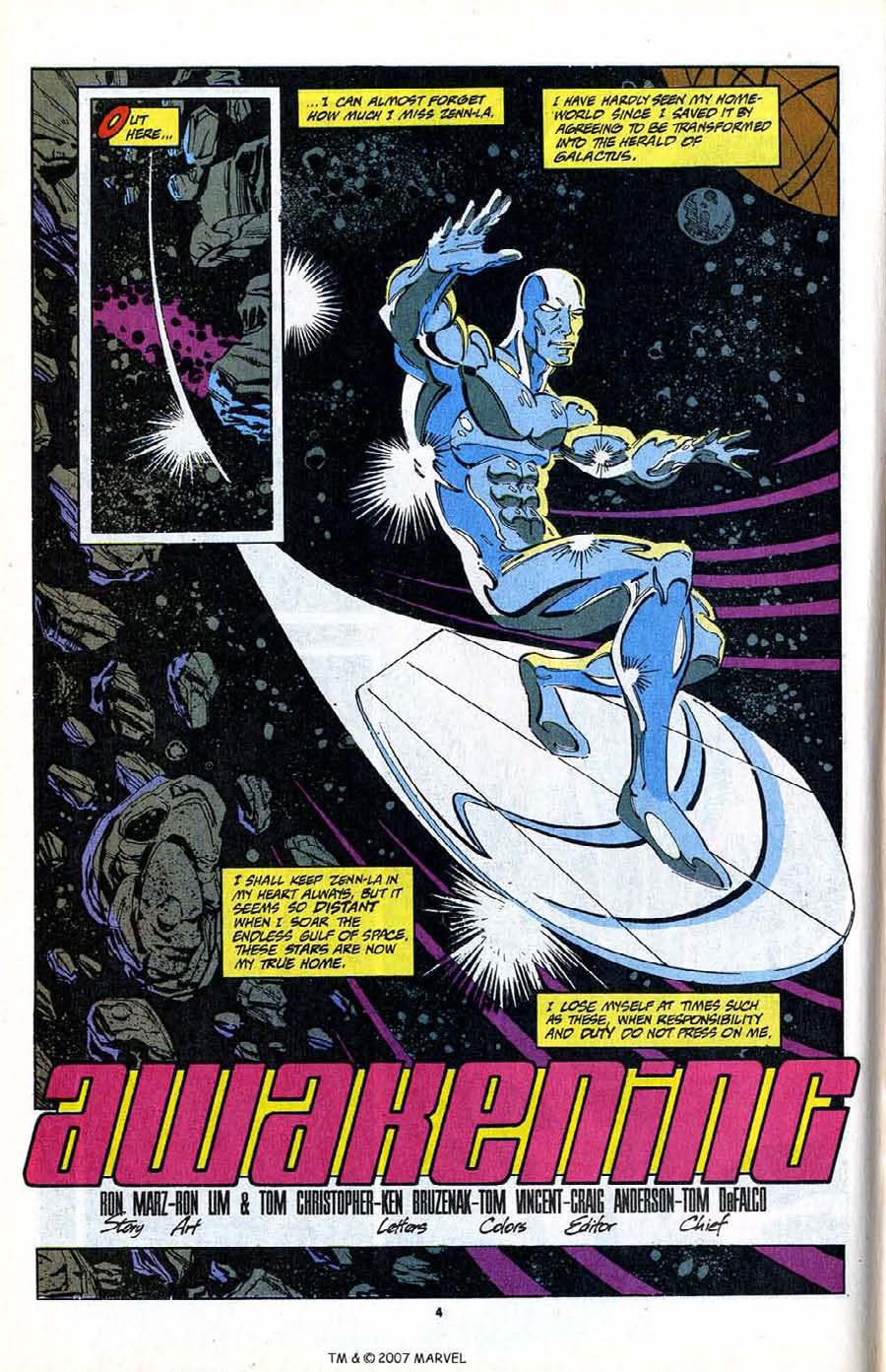 Read online Silver Surfer (1987) comic -  Issue #80 - 6