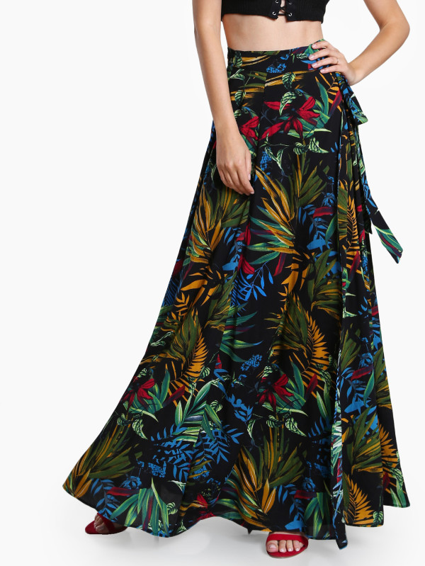 maxi falda tropical