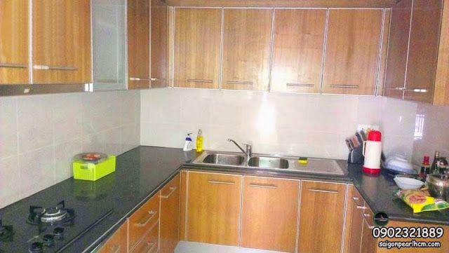 kitchen 135m2 apartment Saigon Pearl