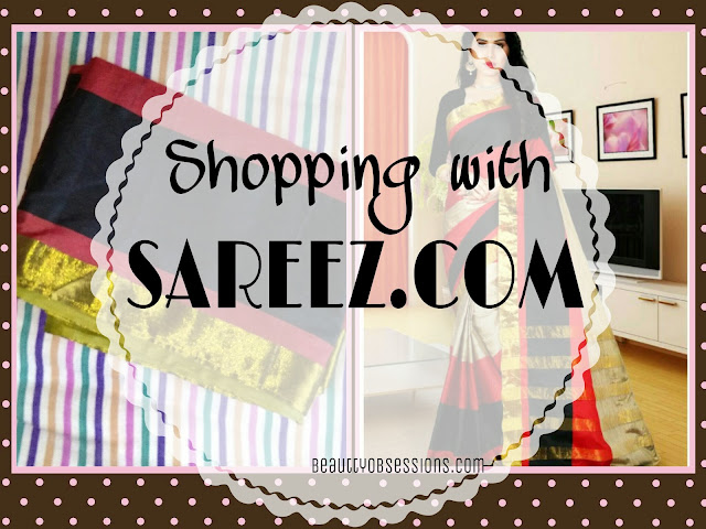 Silk Saree Love with SAREEZ(DOT)COM