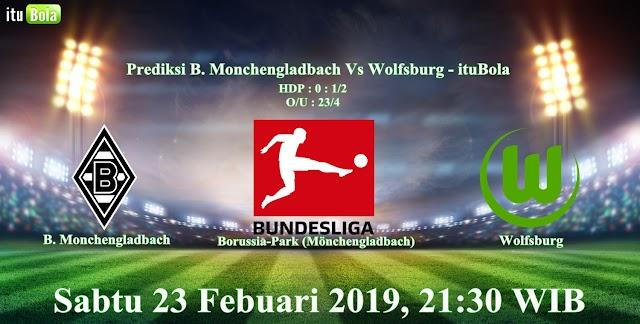 Prediksi B. Monchengladbach Vs Wolfsburg - ituBola