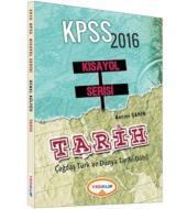 Yediiklim KPSS Kısayol Serisi Tarih (2016)