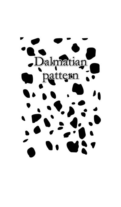 Dalmatian pattern.
