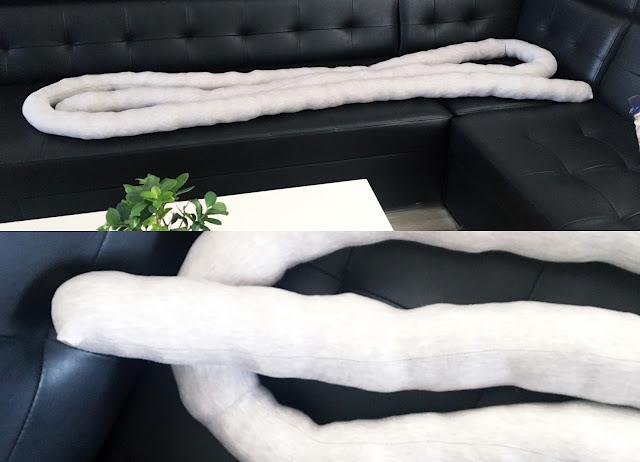 jak zrobić poduszkę warkocz