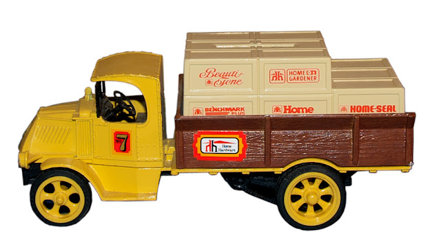 The seventh truck issued in the first series of collectibles from Home Hardware.