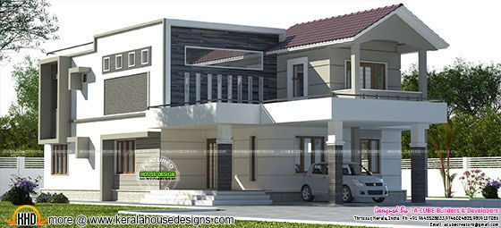 Modern mix 2780 sq-ft 4 bedroom home