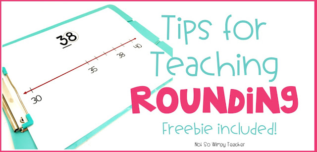 Ditch the rhymes and use these strategies to help your students round and have a solid number sense!