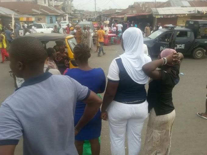 Serious confusion as man slaps wife to death in Lagos