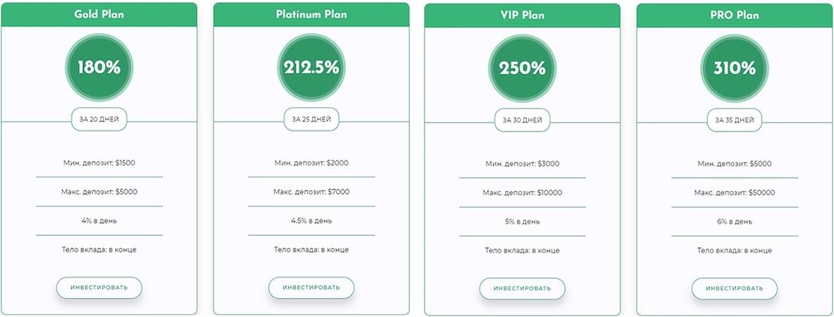 Инвестиционные планы Bitline 2